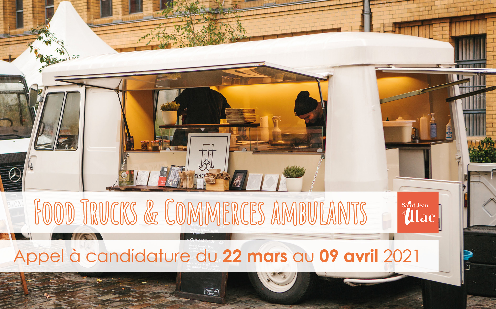 2021 Appel candidature Food trucks Carrousel